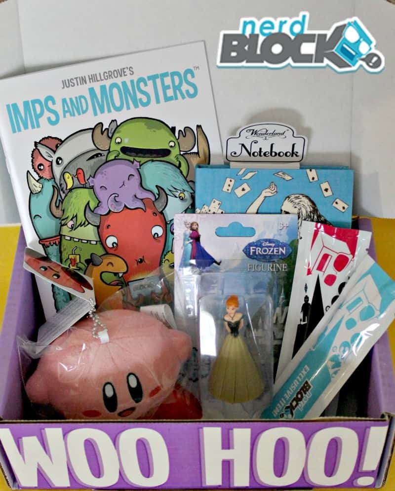 Nerd Block Jr – Our February Box