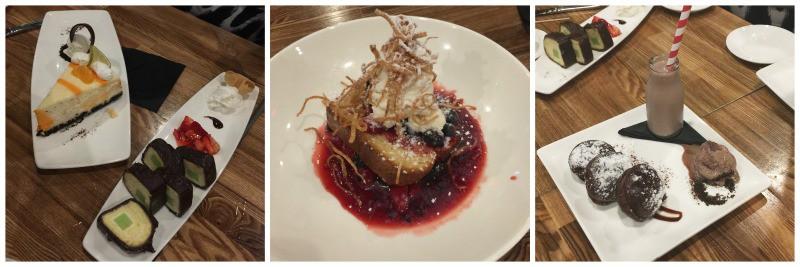 the cowfish desserts