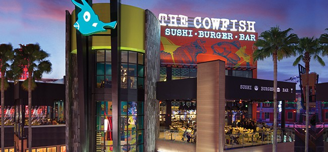 The Cowfish Restaurant: Universal Orlando CityWalk