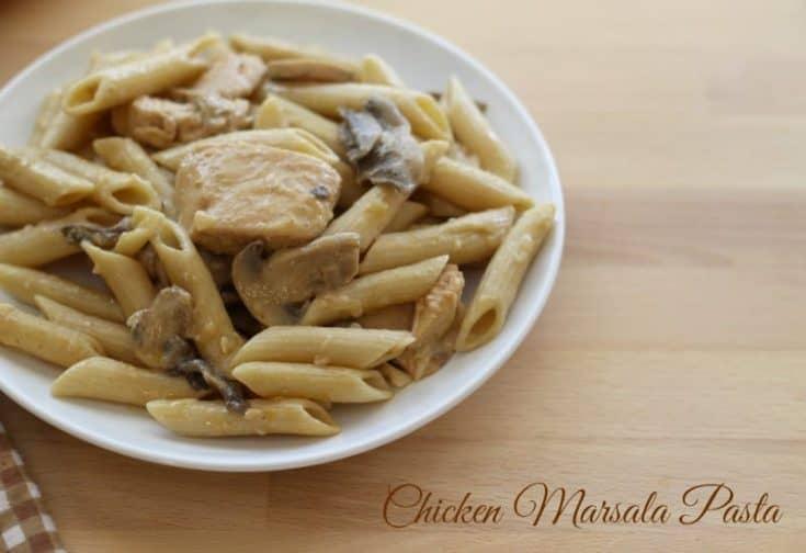 Chicken Marsala Pasta Recipe