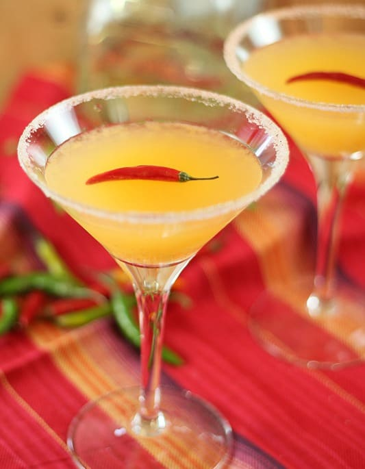 Cinco de Mayo Cocktail: Bare Red Chili Martini
