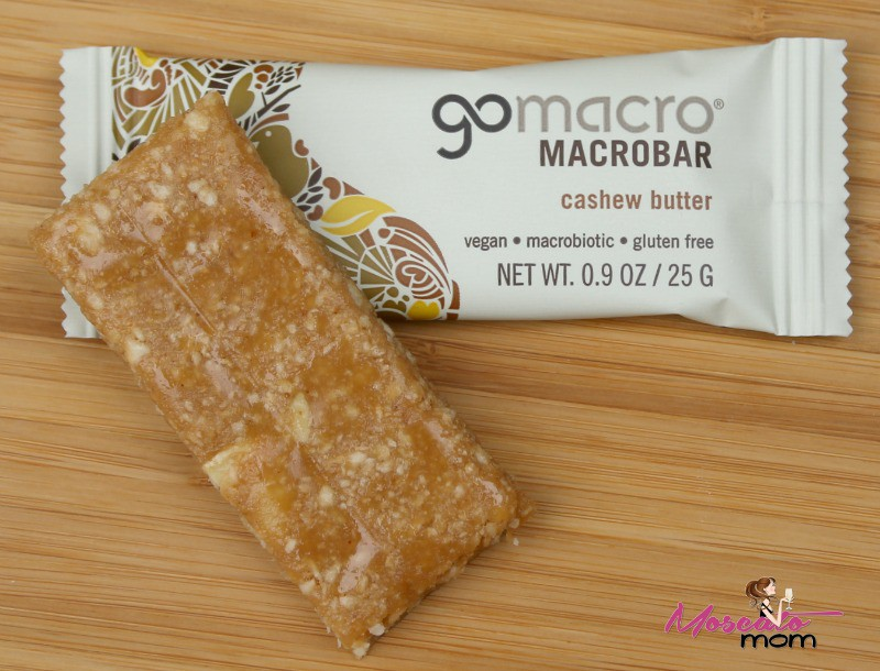gomacro cashew butter bar