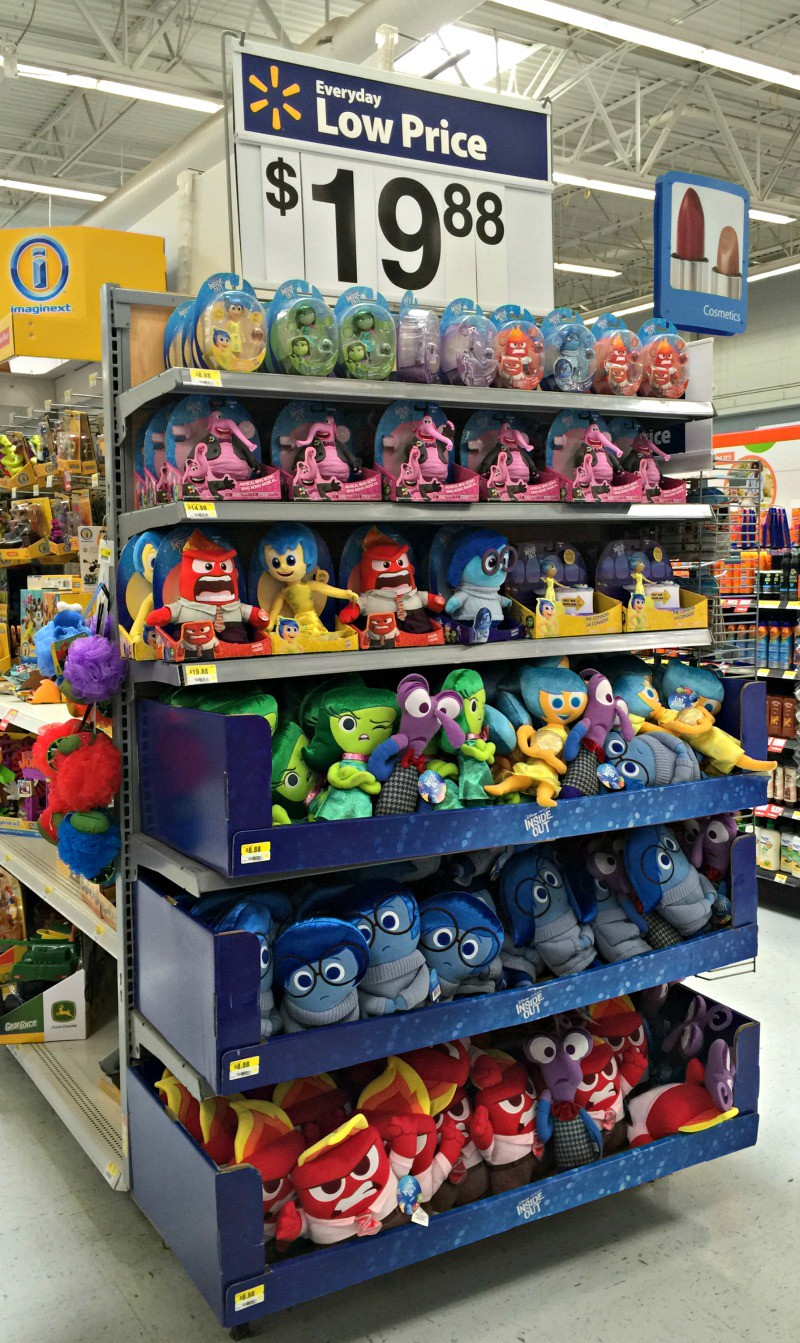 inside out plushes at walmart
