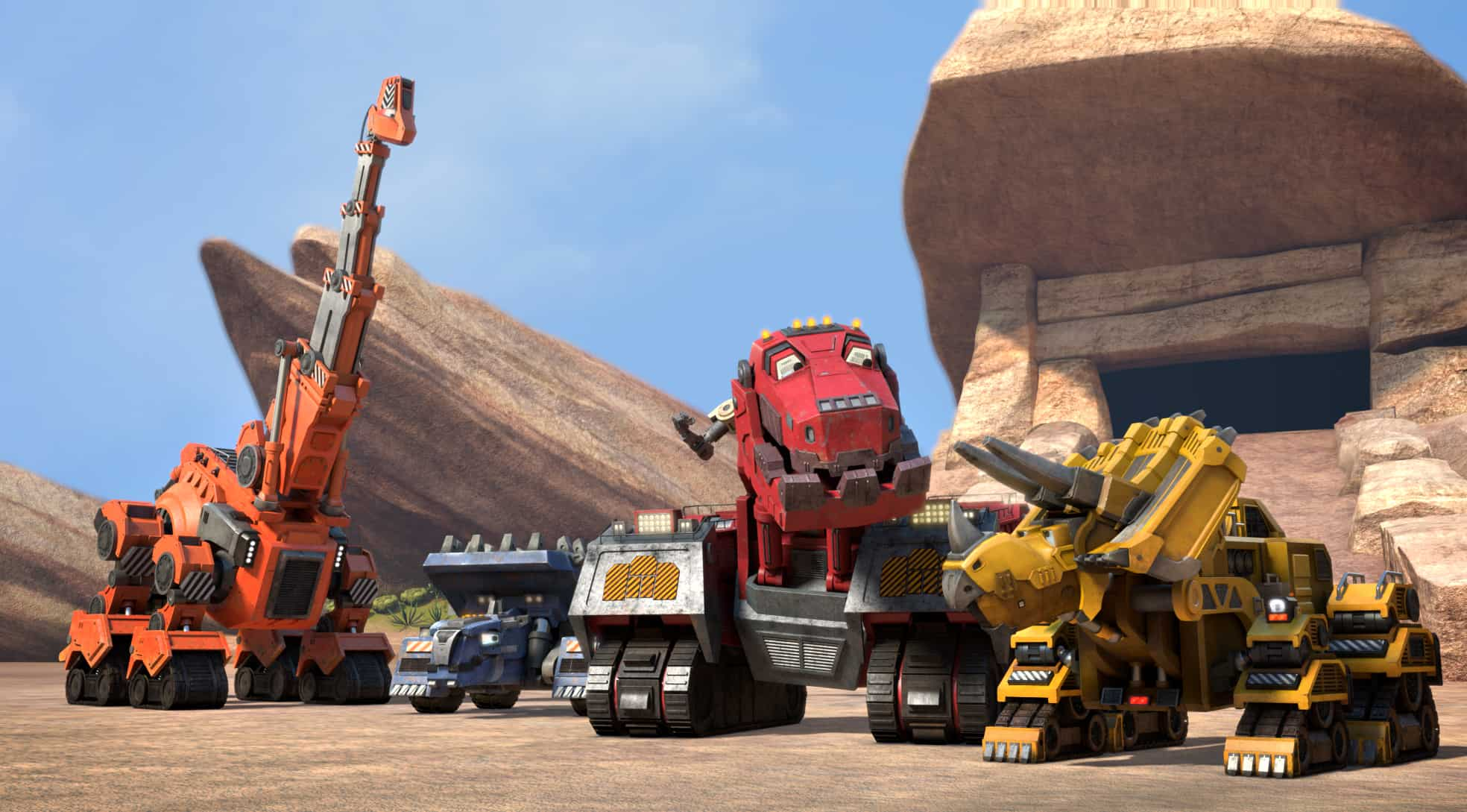DinoTrux comes to life August 14th on Netflix