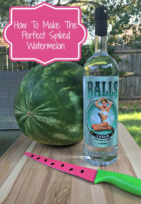 How To Spike A Watermelon – Balls Vodka Review