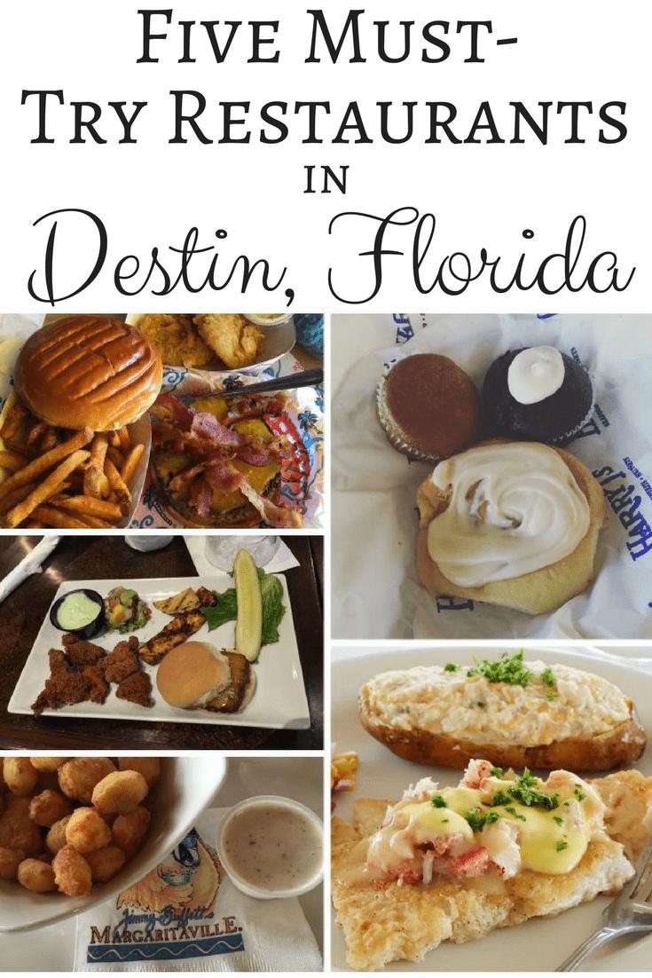 Destin Florida Restaurants
