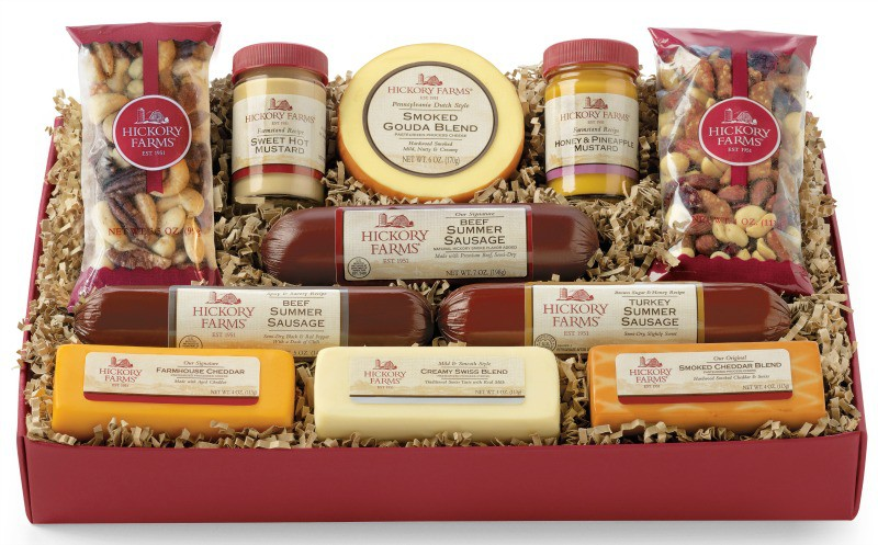 Give The Gift Of Tradition with Hickory Farms