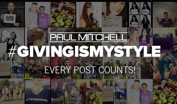 Paul Mitchell Is Giving Back With #GivingIsMyStyle