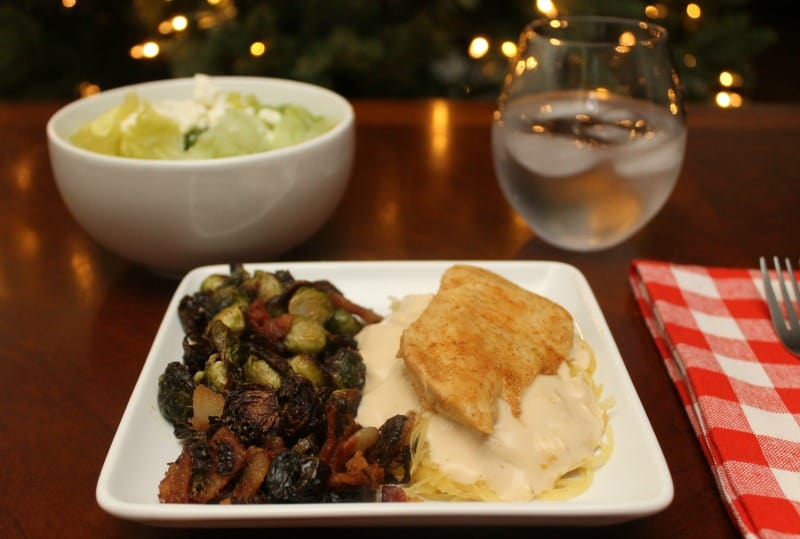 A Keto Christmas – Chicken Alfredo Recipe