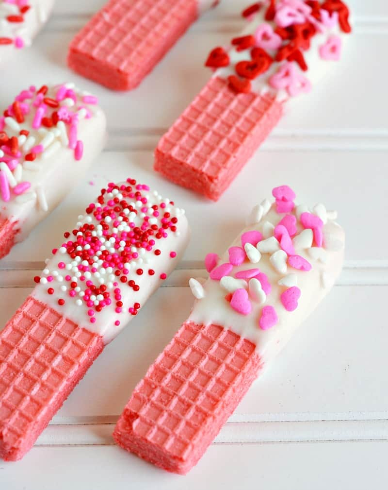 valentines day party wafer candy
