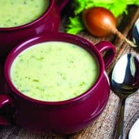 Cream of Broccoli Cheddar Soup