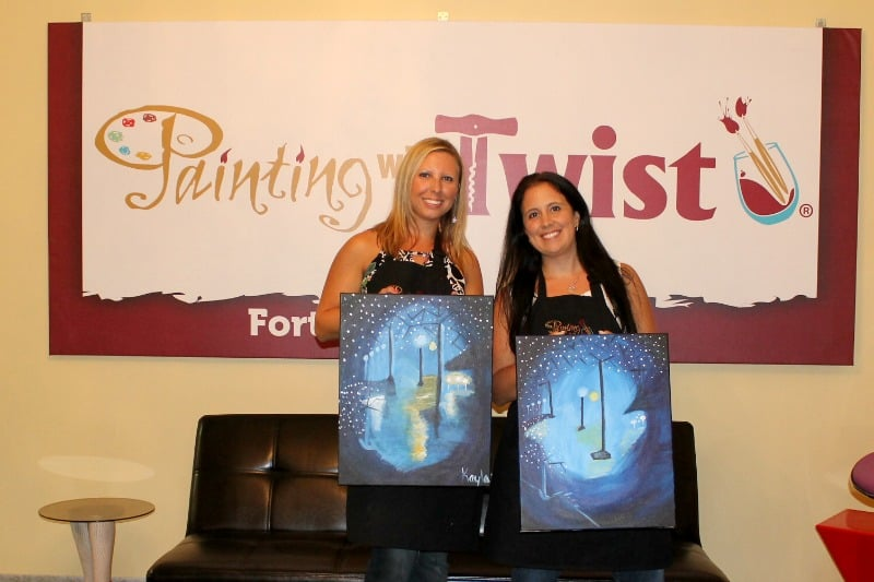 painting with a twist fort walton