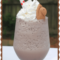 Toasted Marshmallow Chocolate Milkshake – With Peeps Minis!