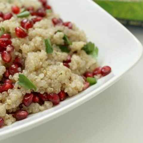 Quinoa and Pomegranate Salad