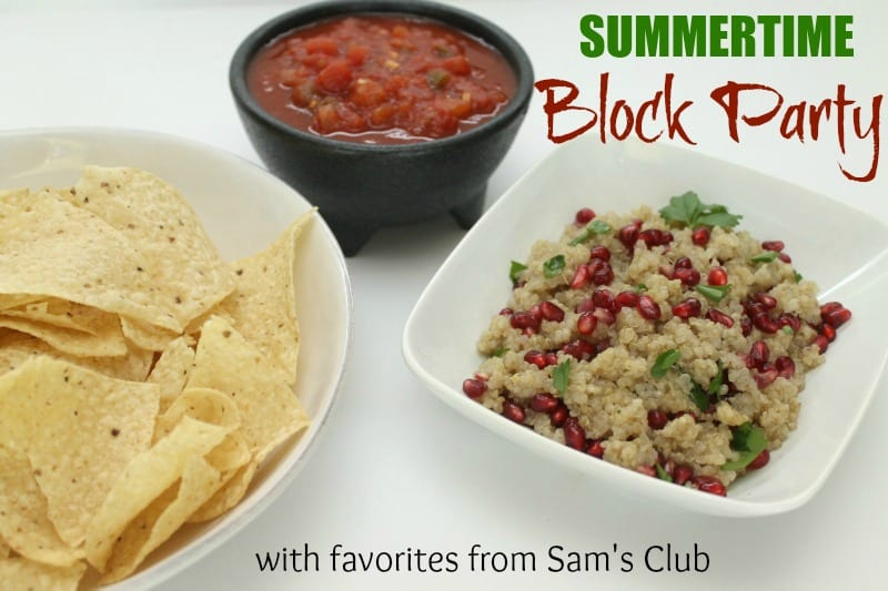 sams club summer block party favorites