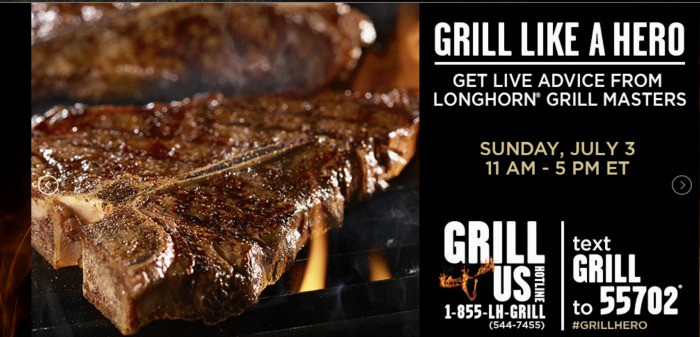 longhorn grill hero