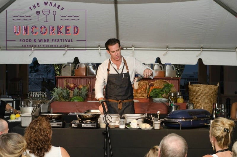 the wharf uncorked demo