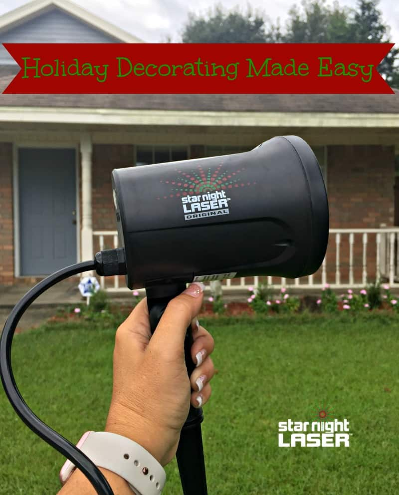 Holiday Decorating with StarNight Laser