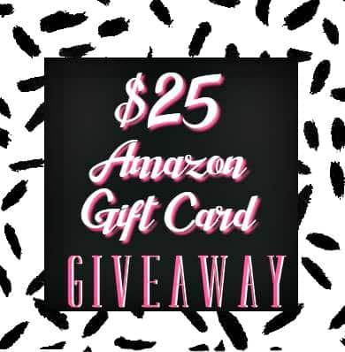 $25 Amazon Giveaway