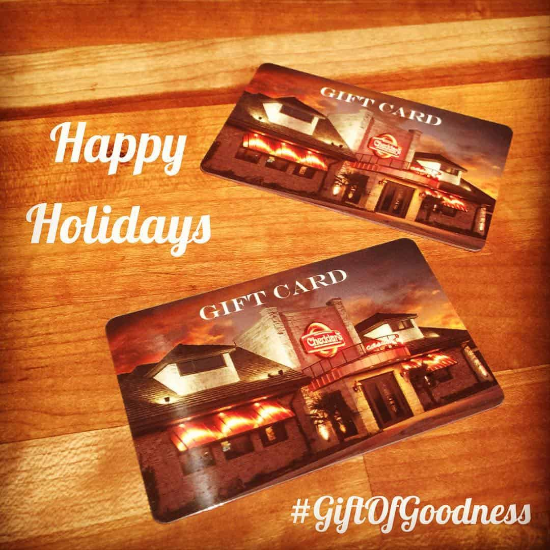 Cheddar's Scratch Kitchen – Give The #GiftOfGoodness This Holiday