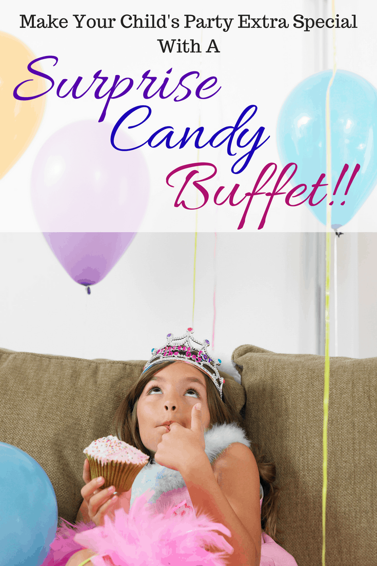 Children's Party Surprise – A Candy Buffet!