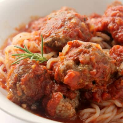 Keto Spaghetti and Meatballs Recipe