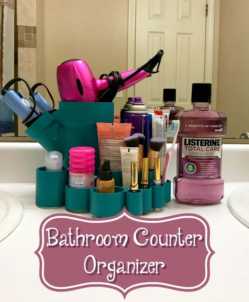 bathroom counter organizer diy bathroom counter caddy 28486