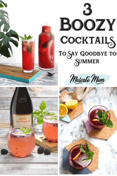 Three Fruity Cocktails To Celebrate The End Of Summer