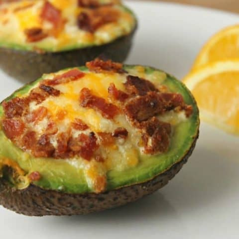 Avocado Breakfast Bakes