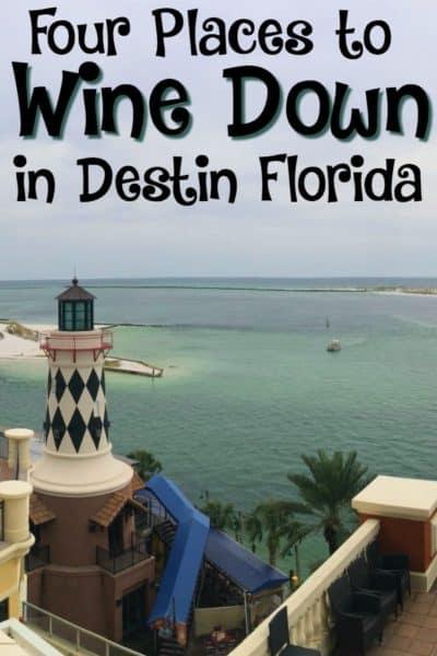 Wine Down in Destin Florida