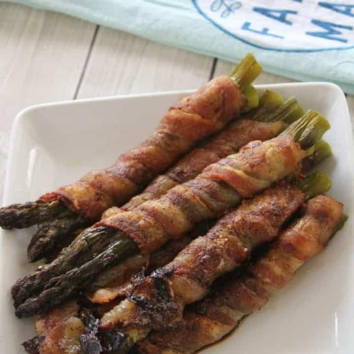 Bacon & Butter Wrapped Asparagus