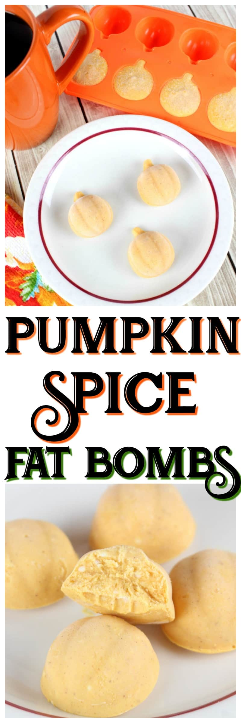 pumpkin keto fat bombs