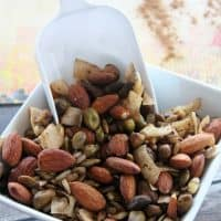 Low Carb Pumpkin Spice Trail Mix