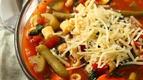 Olive Garden Minestrone Soup Recipe Crock Pot Crockpot minestrone soup inspired by olive garden moscatomom workwithnaturefo