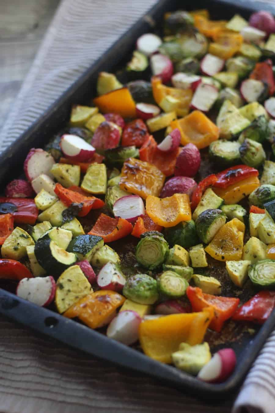 Sheet Pan Roasted Low Carb Veggies Keto Side Dishes