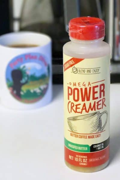 Simple Keto Coffee with Omega Power Creamer