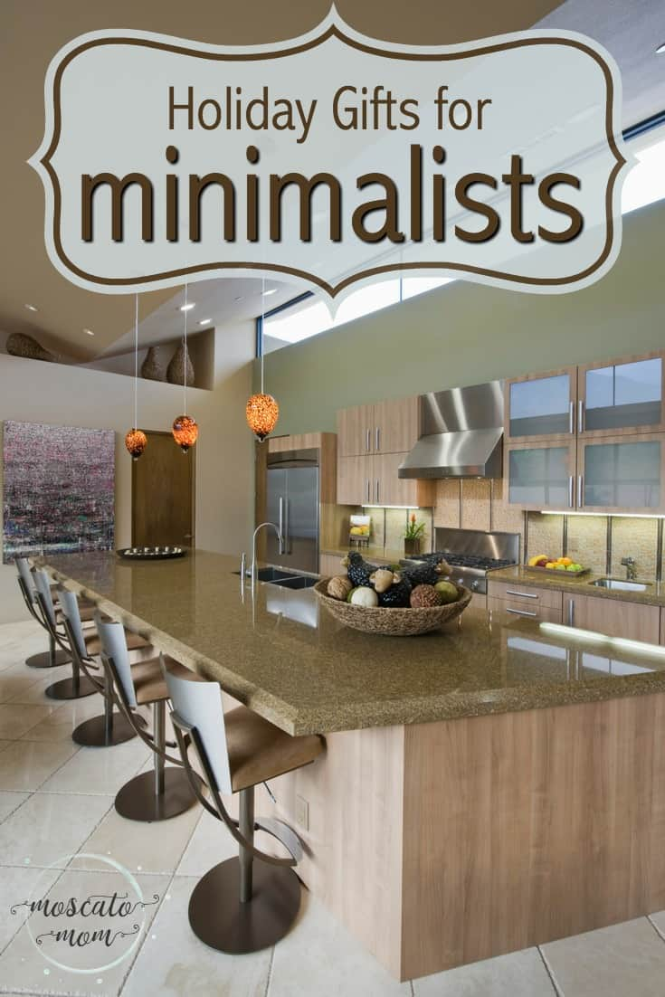 gifts for minimalists