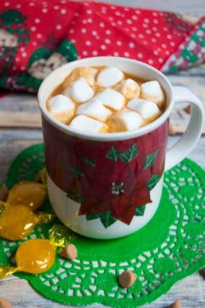 Delicious Butterscotch Hot Chocolate