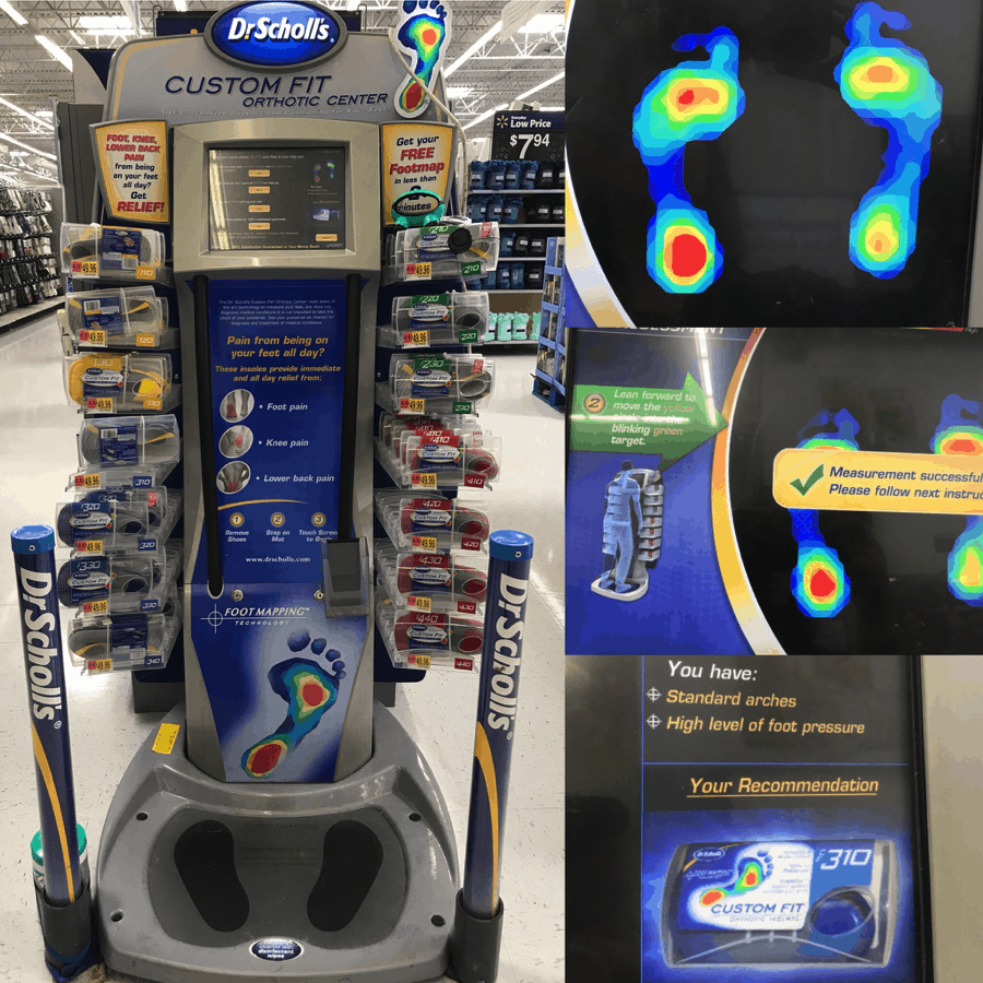 How To Get 10,000 Steps with Dr Scholl's | Dr Scholls Foot Mapping Locations on