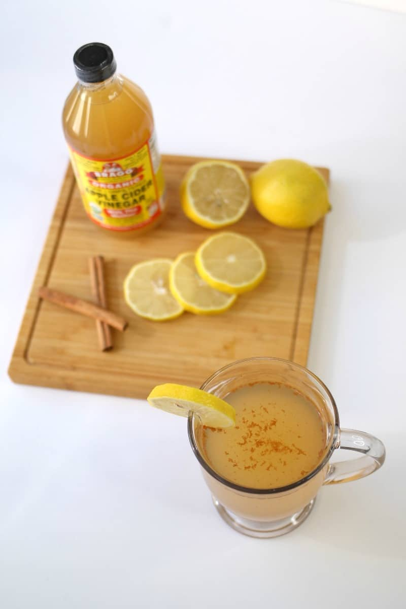 Try this delicious ACV Detox Drink to look and feel your best! #keto #ACV