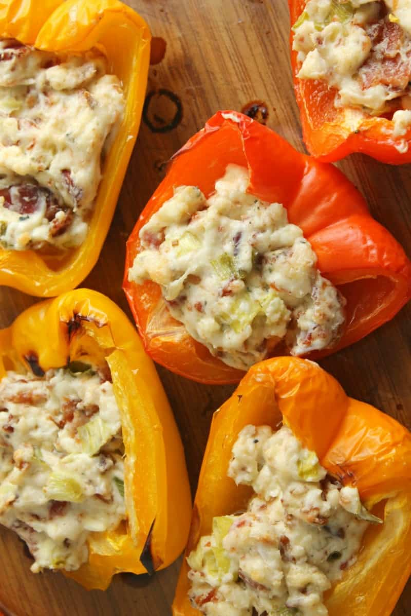 stuffed bell pepper appetizer