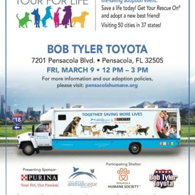 Tour For Life Is Coming To Pensacola