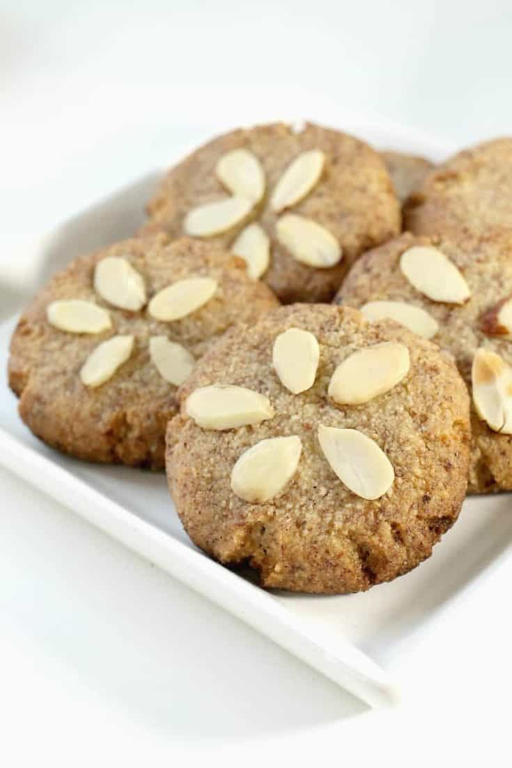 Sand Dollar Keto Snickerdoodle Cookies