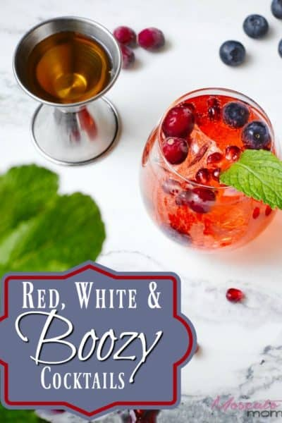 Red, White, & Boozy – 4th of July Cocktails