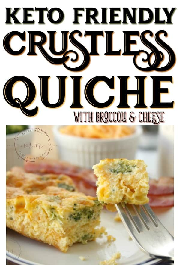 how to make crustless quiche