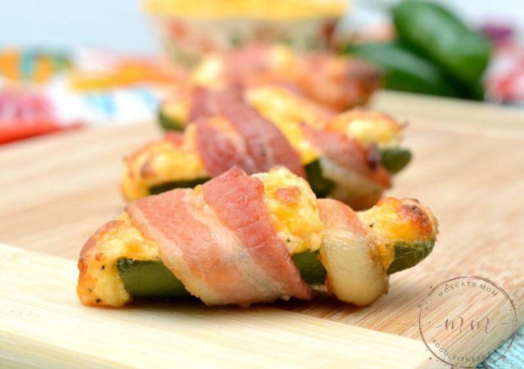 Keto Chicken Stuffed Jalapeno Poppers