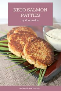 easy keto salmon patties