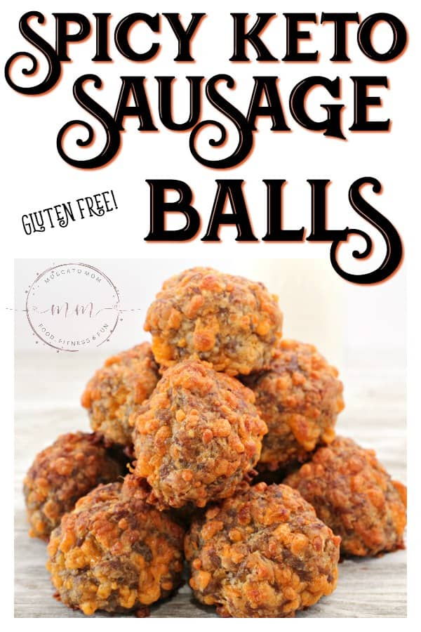spicy keto sausage balls recipe