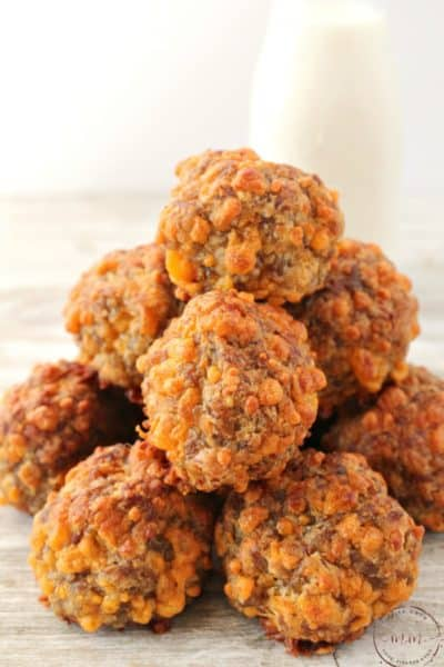 Spicy Keto Sausage Balls Appetizer