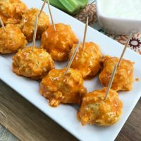Easy Keto Buffalo Chicken Meatballs